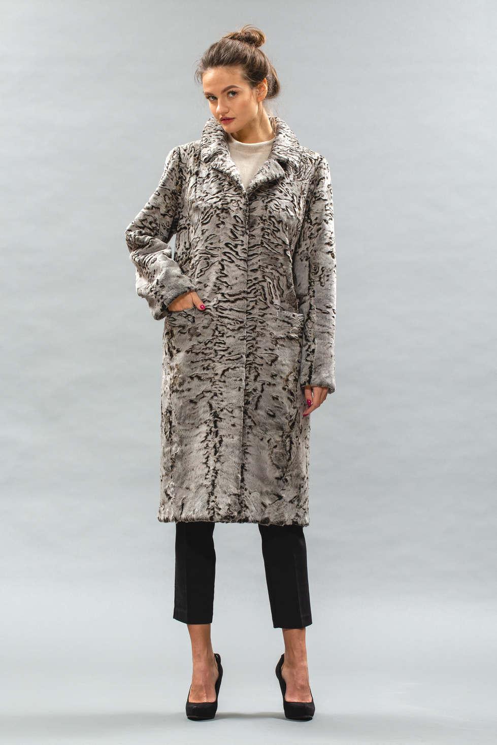 9b3844f8194 пальто из каракульчи
